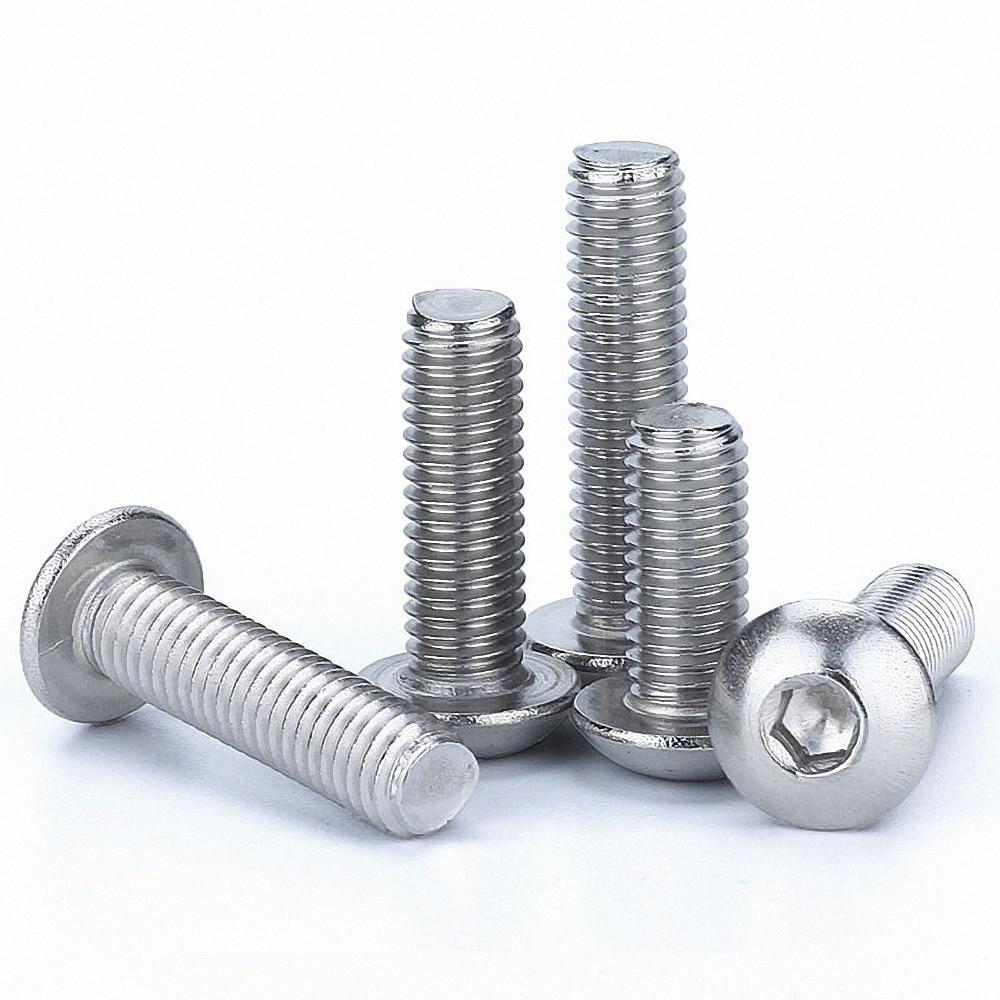 M6 M10 304 Stainless Steel Allen Flat Head Socket Cap Screws Bolt Select Size