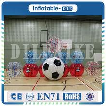 Free Shipping 0 8mm PVC 1 5m Bumper Ball Giant Human Body Soccer Inflatable Bubble Ball