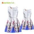 Vestidos Para Meninas E Mãe de Verão Da Família família Roupas Combinando WD3313 Combinando Mãe Filha Roupas Vestido Da Menina Europeu