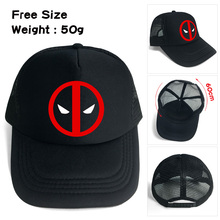 ohcomics Wellcomics Marvel Avengers Infinity War Deadpool Symbol Mesh  Trucker Cap 064b683146a