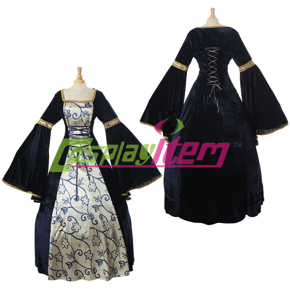 (with petticoat)Vintage Gothic Lolita dress Civil War medieval Renaissance victorian Southern belle costume - Cosplayitem COS store