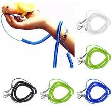 Parrot Bird Leash Flying Training Rope Straps Parrot Cockatiels Starling Budgie(China)
