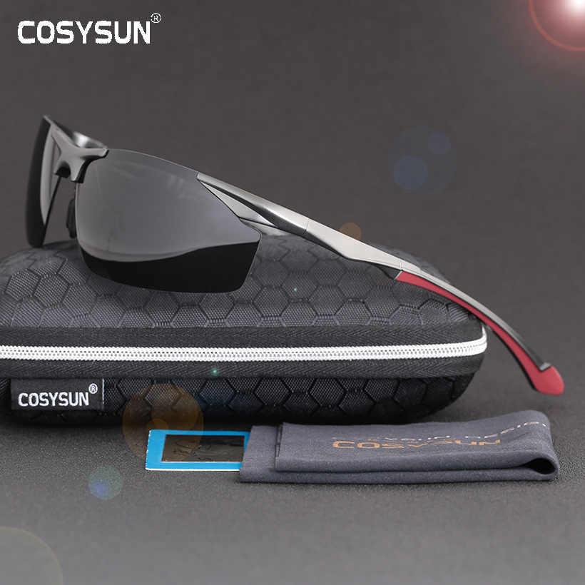 687738e19e 2018 Men Polarized Rimless Aluminum Sunglasses Man Driving glasses HD Polarized  Sunglasses Male Goggle Sports Oculos