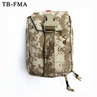 TB FMA New Outdoor First Medical Aid Kit Pouch Tactical Molle Black for Outdoors Hunting & Airsoft Medical Pouches Free Shipping