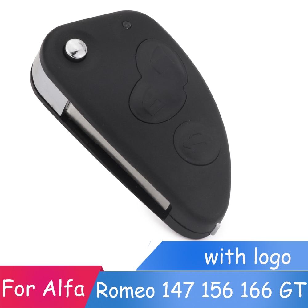 ⃝3 Button Uncut Blade ① Remote Remote Car Key Case 【】 Shell Shell Key Combo Flip Fob Car Key ...