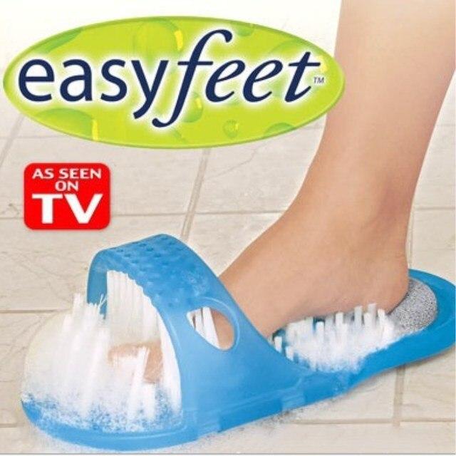 1 pz Piedi Facile Piede Cleaner Scrubber Rondella Pantofola Grande Piede Salute