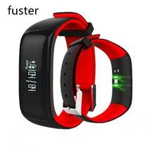 Фустер P1 Bluetooth Фитнес умный Браслет Водонепроницаемый группа с hr и br Monitores smartband для Android и iOS смартфонов