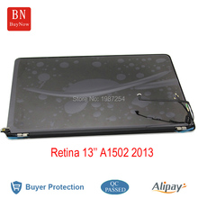 "90% New Used A1502 LCD LED Screen For Apple MacBook Pro 13"" A1502 Retina LCD Screen Assembly 2013 2014 Year 2560*1600"