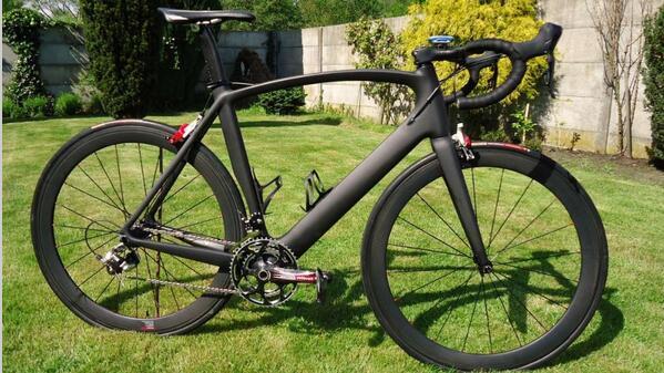 Ciclo De La Bicicleta De Carbono Bicicleta De Carretera