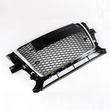 2009~2012 RSQ5 Style Chrome Frame Front Bumper mesh Honeycomb Grill Grille For Audi Q5(China)