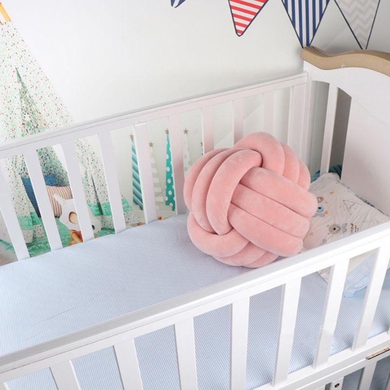 HTB1BNakXHj1gK0jSZFOq6A7GpXa4 Soft Knot Ball Cushions Bed Stuffed Pillow Home Decor Cushion Ball Plush Throw
