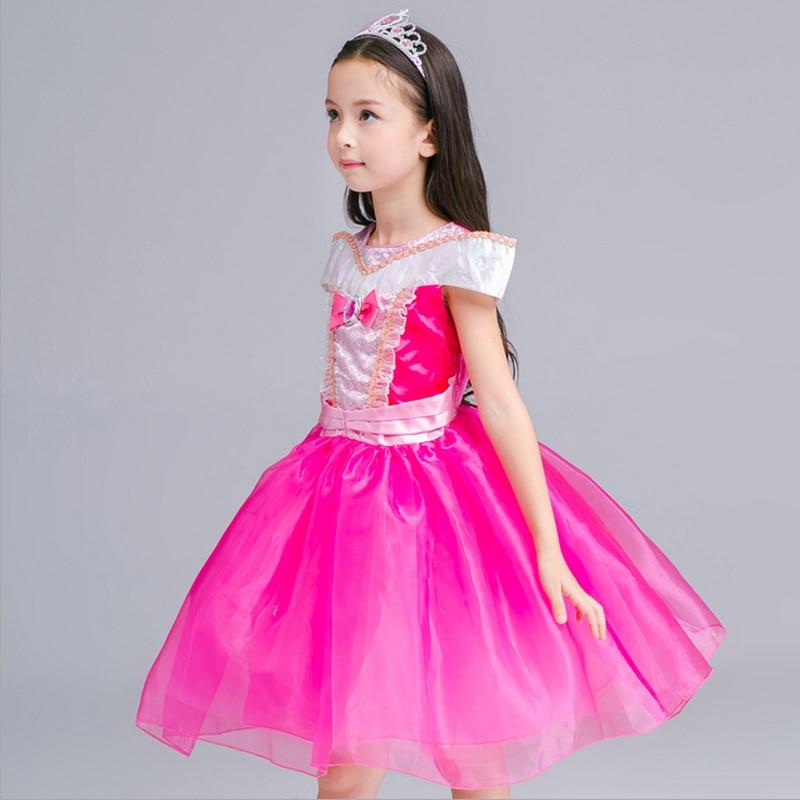 Baby Girl ropa vestido fille enfant corte de dibujos animados ...