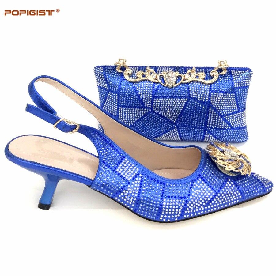 2019 Diamantes Venta A Imitación Damas royal purple l Zapatos Novia Caliente Adornado silver Púrpura Juego L Black Boda Set De Italiano red Y Con Blue La Bolso 0Iwr0nqET
