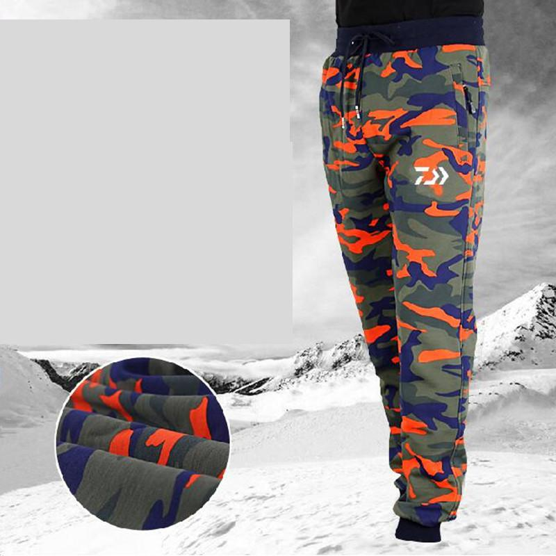 2018 New Arrival Outdoor Sports Pants Brand Men Fishing Pants  Warmth Hiking Camping Plus Size Windproof Breathable Pants adidas original new arrival official neo women s knitted pants breathable elatstic waist sportswear bs4904