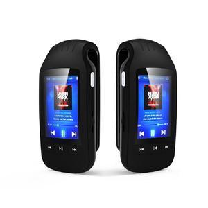 Image 5 - Портативный мини mp3 плеер HOTT 1037 с клипсой, 8 ГБ, спортивный шагомер, Bluetooth, FM радио, со слотом для tf карты, стерео музыкальный плеер с ЖК экраном 1,8