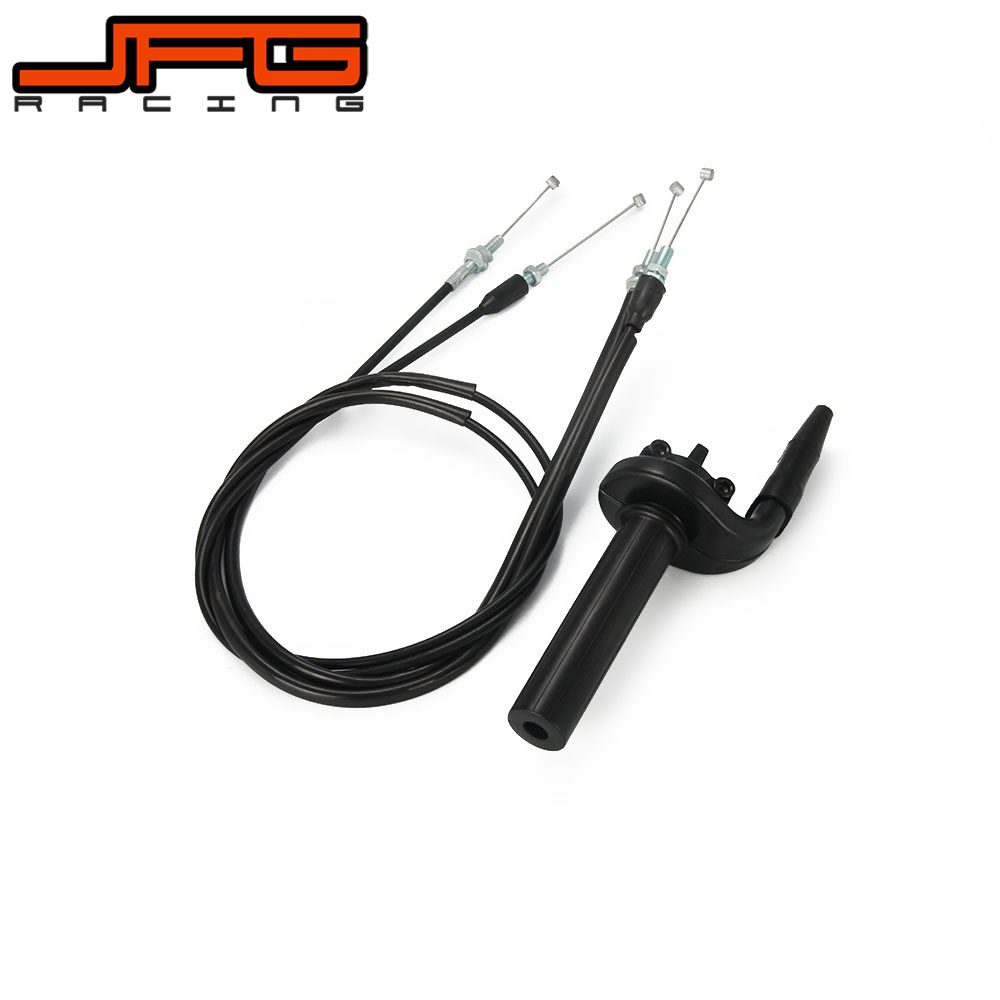 Motorcycle Handlebar Plastic Twister Throttle Tube Pull Push Cable FCR For Honda CRF150R CRF450R CRF450X CRF250R CRF250X TRX450R 7 8 lever brake clutch master cylinder set reservoir for honda crf150r crf250x crf250r crf450r crf450x crf230f sl230 xr250