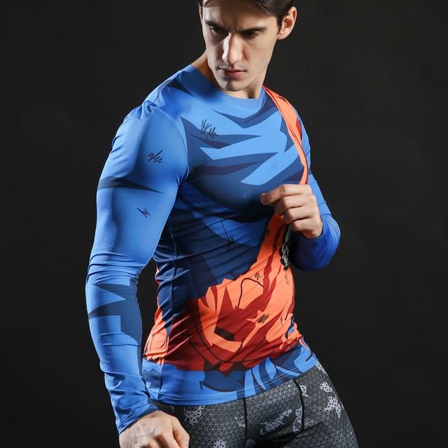 Dragon Ball Z Fitness Gym T Shirt