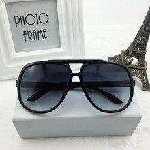 146mm Oversized Sunglasses Men Women Vintage Sun Glasses for Man Polarized Black Brown Retro Female Shades Brand Design