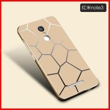 For Xiaomi Redmi Note 3 Case, Luxury Metal Aluminum Frame + PC Back Cover Hybrid Case for Xiaomi Redmi Note 3 Pro 5.5″ inch