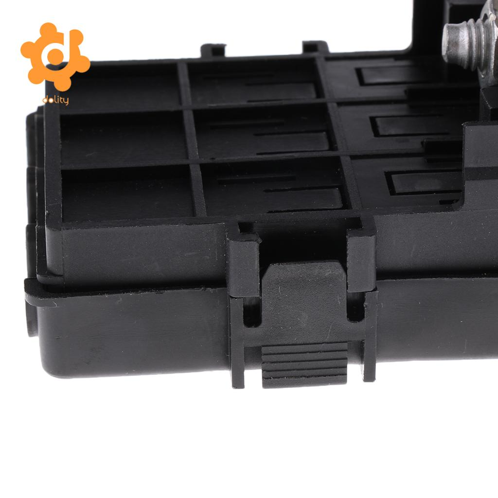 Car 18 Way Blade Fuse Holder 10 Relay Socket Fusebox Box Clamps Automotive Battery 3way Screw Down For Ans Afs Anf Ang
