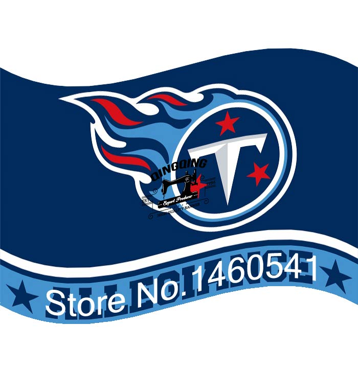 Tennessee Titans Flag 3ft X 5ft Polyester Nfl Banner