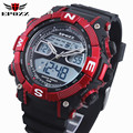 Brand EPOZZ Men Swim Digital Golden Watch Waterproof Analog Male Clock relogio masculino montre homme reloj 2801