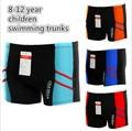 Nuevos 2016 niños que nadan troncos/8-12 años boy boxeador troncos de natación/envío libre