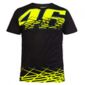 2017 Valentino Rossi VR46 Mens' T-Shirt The Doctor Moto GP 46 Motorcycle Sports T-shirt