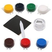 Herramienta de reparación de cuero líquido para asiento de coche, Kit de pintura líquida para el cuidado de la piel del coche