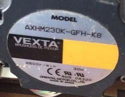 Fuji 330 340 minilab motor 118C966728 / 118C966728A used