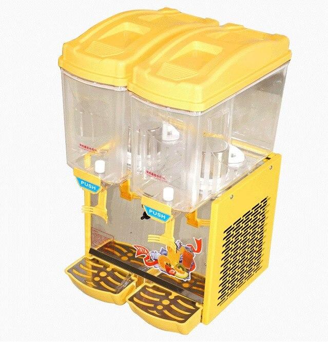 free shipping 30L Hot and cold type spray-type juice dispenser machine/ beverage dispenser cold drinks coke dispenser vending selling machine field modulation coke making machine