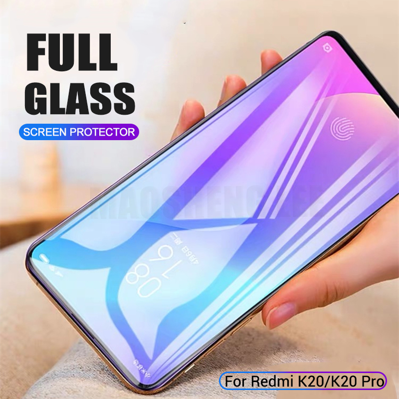 2pcs/lot Tempered Glass For Xiaomi Redmi K20 Mi 9T Pro Screen Protector Anti Blu-ray Glass For Xiaomi Mi 9T Protective Glass