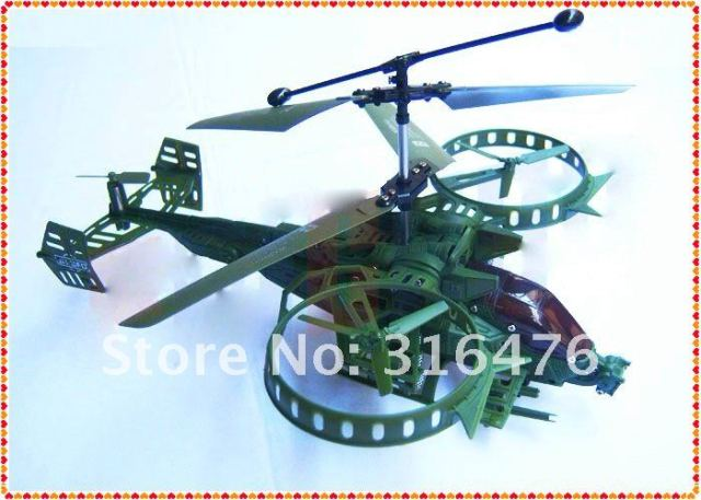 Newest JH 3.5CH Avatar Gunship super ruggedness infrared I/R RC helicopter w/ Gyro USB RTF ,as F103 / Z008 +Free shipping