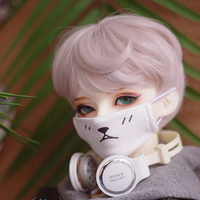 1/3 1/4 1/6 BJD Doll High Temperature Wig Boy Short Wigs SD BJD Wig with Bangs Fashion Type Stylish Hair for Dolls