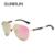 SUNRUN Piloto de Óculos De Sol Polarizados Homens de Tamanho Ao Longo de Metal Mulheres Óculos de Sol de Design Da Marca Espelho Óculos lentes de sol hombre 1020