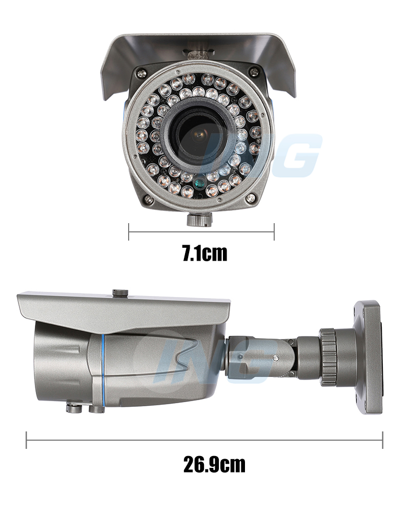 Camera De Surveillance Exterieur Discrete Waterproof Outdoor 700tvl Surveillance Cctv Camera Sony Effio E Ccd Cmos 2 8 12mm Zoom Security Camera Video Analog Cam