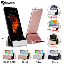 USB Cable Cradle Charger Base for Xiaomi Android Type C Samsung S9 Huawei Stand