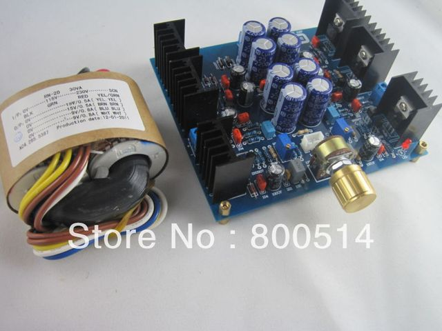 Headphone Amplifier Board Base on JLH amp + Transformer     #0506-25