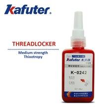 2 unids/lote K-0242 Hilo pegamento adhesivo Anaeróbico tornillo De Metal Tornillo de Bloqueo Sello up Anti óxido Extraíble Tixotropía resistencia Media