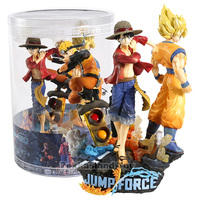 Jump Force Collector's Edition Monkey D Luffy Son Goku Naruto PVC Figure Collectible Model Toy