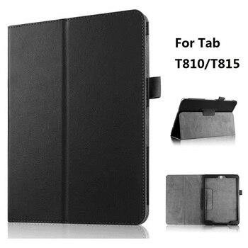2 секции складной Личи узор защитный чехол для Samsung Galaxy Tab S2 9,7 SM T810 T815 SM T813 T819