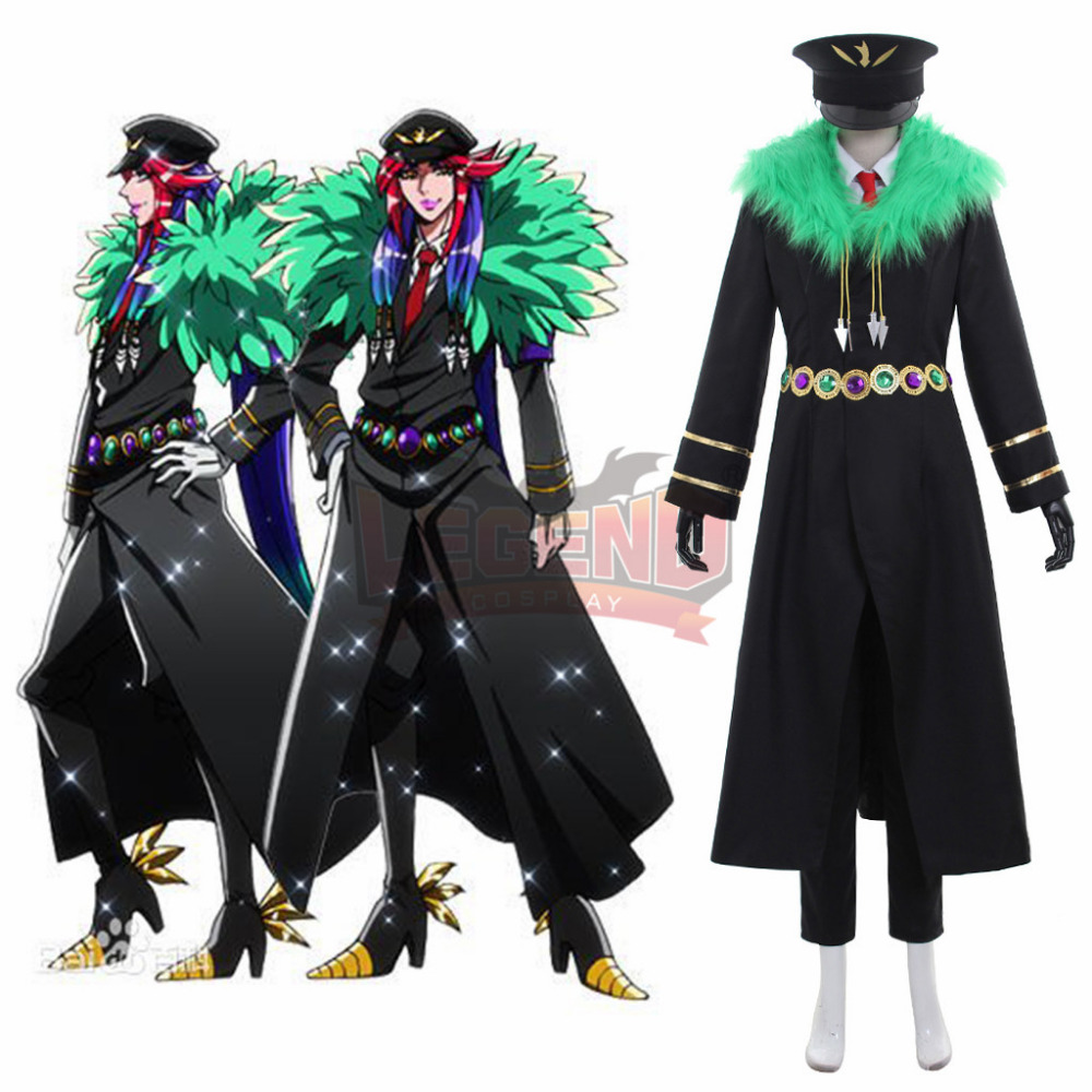 Здесь продается  detentionhouse Nanbaka Kiji Mitsuba cosplay costume adult uniform halloween costume   Одежда и аксессуары