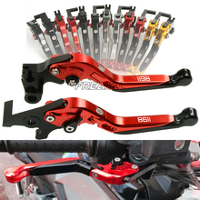 CNC Aluminum Motorbike Levers Motorcycle Brake Clutch Foldable Extendable For Ducati 1198 1198S 1198R S R 2009-2011