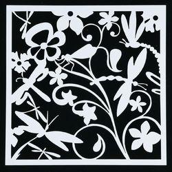 1 PC Libelle Form Wiederverwendbare Schablone Airbrush Malerei Kunst DIY Home Decor Schrott buchung Album Handwerk Freies Verschiffen