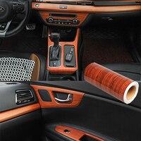 30X100cm Bois Grain bricolage Autocollant De Voiture Autocollant Film Pour Mercedes Benz W205 W203 W212 W124 W204 W176 Volvo XC90 S60 V40 S80 XC60 V60