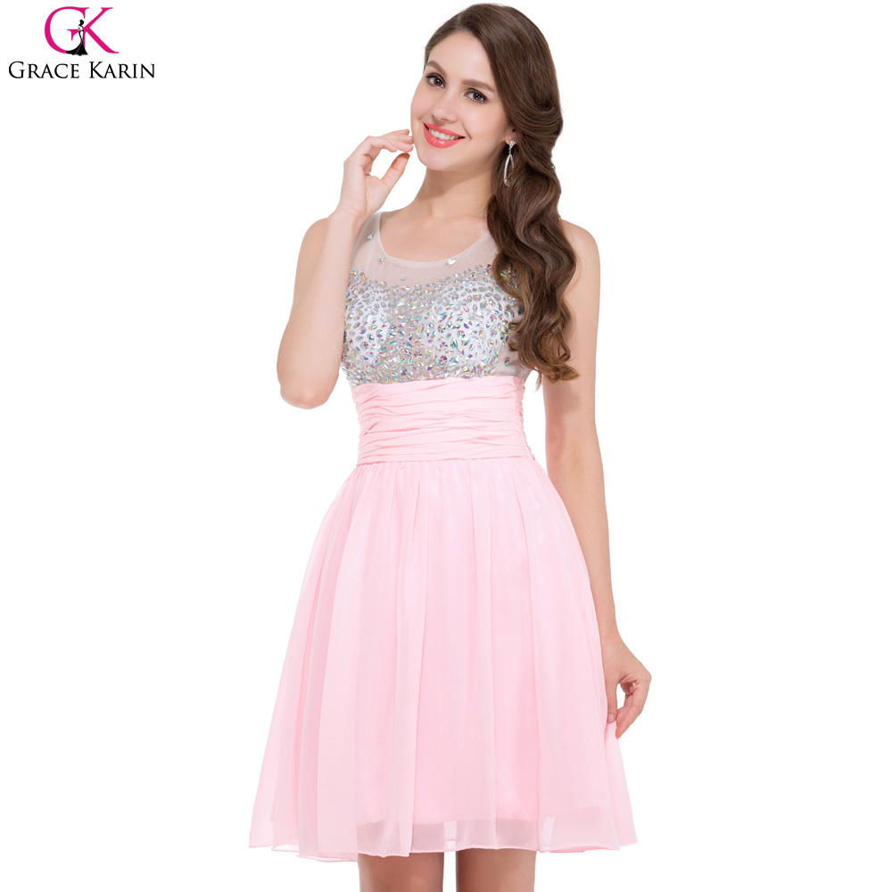 Online Get Cheap Pink Cocktail Dresses for Women -Aliexpress.com ...