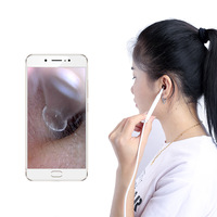 Wifi Ear Cleaning Endoscope Ear Health Care Cleaner Ear Wax Removal HD Visual Ear Spoon Multifunctional Earpick With Mini Camera