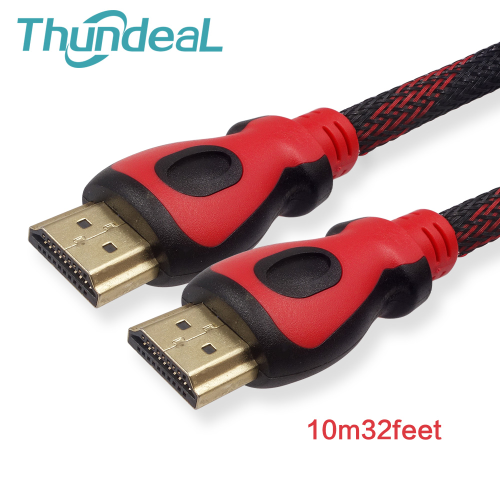 Adapter Cables HDMI Projector TV 1080p 3D for YG400 LCD LED PS3 Speed-1.4v M/M Male High-Quality