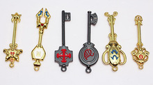 Fairy Tail Key Ring Lucy Ecliptic 12 Palace Constellation Keychain pendant 18pcs/set