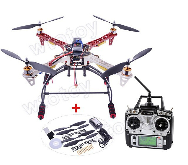 RC FPV RTF Quadcopter FPV Kit Flamewheel + Landing Gear + KK2.9 Controller OSD + Motor + ESC DJI F450 Multicopter Aerial hml350pro fpv auto retractable landing gear skid controller for phantom 1 2 vision fc40 rc quadcopter diy drone f16326